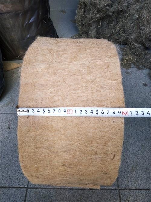 Джут ширина 20 см * длина рулона 20 м (толщина полотна 6 мм) - фото 4498