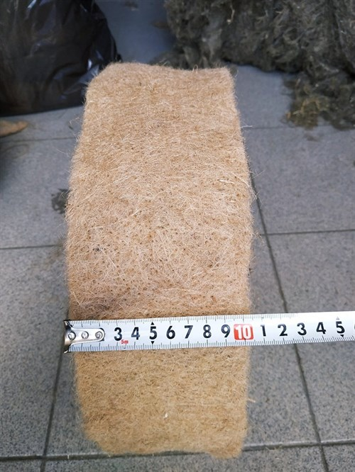 Джут ширина 10 см * длина рулона 20 м (толщина полотна 8 мм) - фото 4503