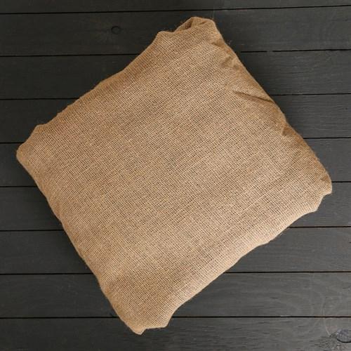 Мешковина джутовая, плотность ткани 360 гр/м2 (рулон 105 см*100 м) - фото 4736
