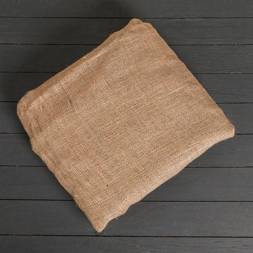 Мешковина джутовая, плотность ткани 270 гр/м2 (рулон 110 см*100 м) - фото 4745