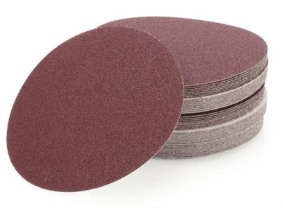 Круги шлифовальные на липучке D-150 мм (40-150 зерно)