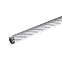 Трос стальной в оплетке ПВХ DIN 3055 3 мм