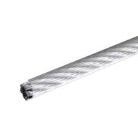 Трос стальной в оплетке ПВХ DIN 3055 6 мм