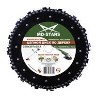 Цепной диск по дереву PROFESSIONAL MD-STARS 230х20х25,4