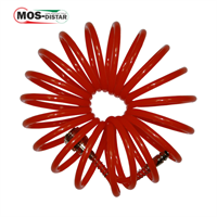 Шланг спиральный полиэстеровый 6мм Х 8мм Х 10м до 15 Атм (MOS-DISTAR)