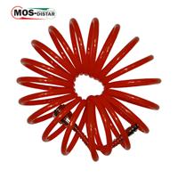 Шланг спиральный полиэстеровый 6мм Х 8мм Х 25м до 15 Атм (MOS-DISTAR)