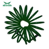 Шланг спиральный полиуретановый 6мм Х 8мм Х 10м до 15 Атм (MD-STARS)