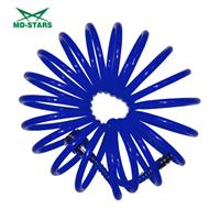 Шланг спиральный полиуретановый 8мм Х 12мм Х 5м до 15 Атм (MD-STARS)