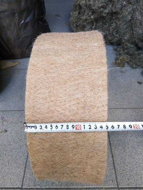 Джут ширина 15 см * длина рулона 20 м (толщина полотна 10 мм) - фото 4517