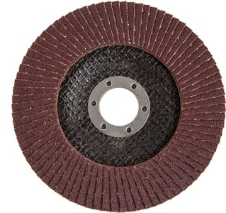 Круги лепестковые торцевые Vertex КЛТ 125*22 мм зерно 24-150 (10 шт.)