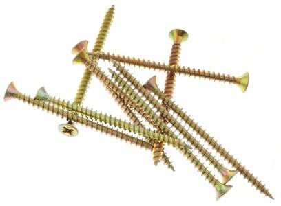 Саморез по дереву желтый цинк 3,8*65 (1 кг)